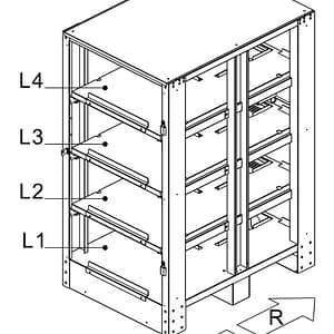 C40 Battery Cabinet